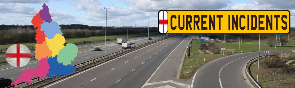 Latest England Traffic News